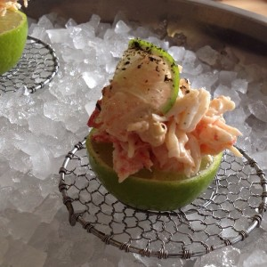 Kimuchi de cangrejo real