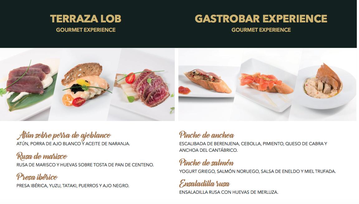 Gourmet experience 1